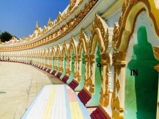 Umin Thounzeh Pagoda, Sagain Hill