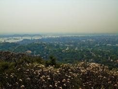 Uitzicht vanaf Sagain Hill