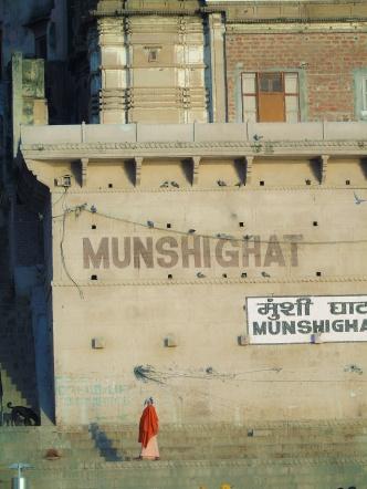 Ghat= Trap naar de Ganges