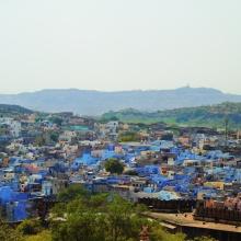 Blauwe stad Jodhpur